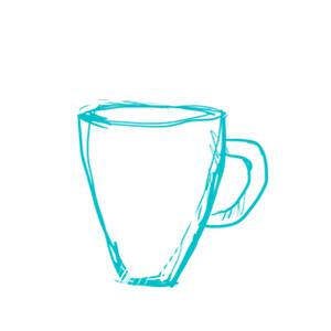 iso kahvimuki