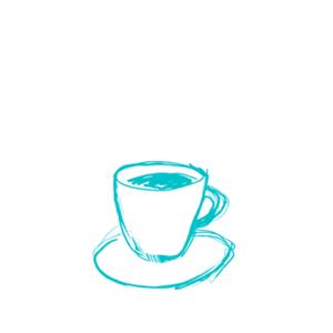 pieni kahvikuppi